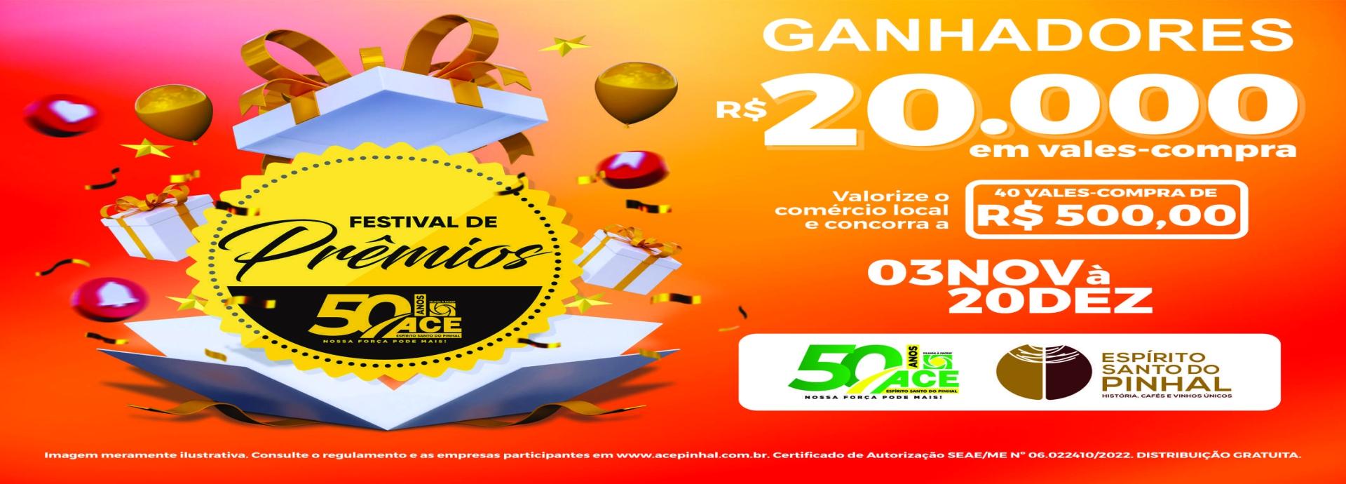 FESTIVAL DE PRÊMIOS 2019