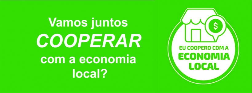 Eu coopero com a economia local